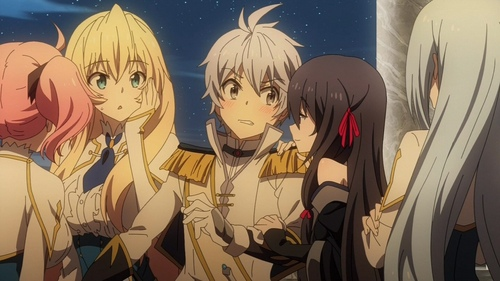 Basically the cast of Undefeated Bahamut Chronicle.