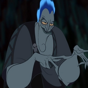 Hades from Hercules. He is funny, and not really that evil. And, of course, he looks good <3