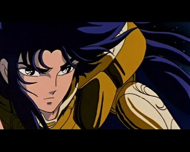 Saga from Saint Seiya because I totally love him XD