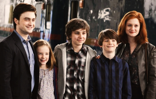 Harry and Ginny are both wizards so when they had kids they are all pure blood only if Harry married a muggle his kids would be half bloods but he married Ginny!😌