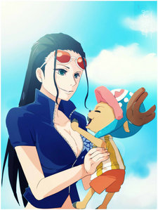 Nico Robin x Tony Tony Chopper from One piece! I hate that somebody ships it at all! Chopper is a young reindeer who are a devil frutas so he could fit in but he only learned how to talk while Robin is an 30 año old ex-criminal with the ability to spread any part of her body anywhere. Their relationship is a mother-son relationship while Roronoa Zoro is like the father there. I don't ship non-canon couples but Chopper and Robin shippers make me sick.