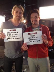 Chris and RDJ