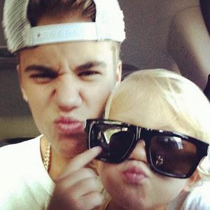 the adorable Bieber bros