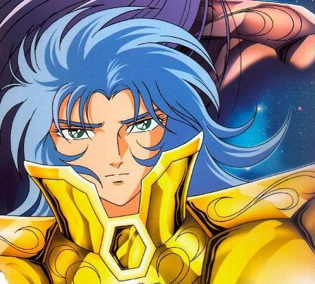 Saga from Saint Seiya