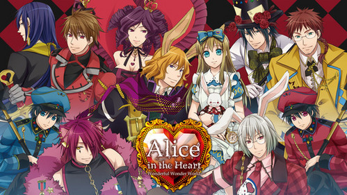 Alice in the Country of Hearts. It's pretty much a world of kill-or-be-killed and lives don't matter, and everyone falls in 사랑 with Alice, because she's an Outsider and has a beating 심장 instead of a clock, which is what the residents of that world have.