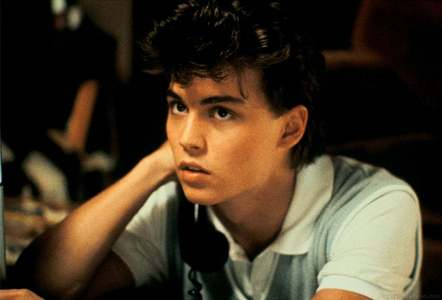 Johnny Depp in 1984 in Nightmare on Elm 通り, ストリート :)