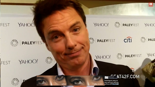 John Barrowman is so amazing. He is the most amazing guy ever and so down to earth. Humble and knows where he came from <3