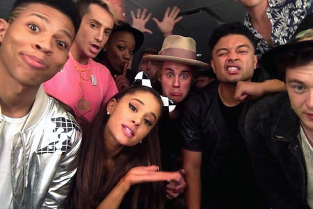 Justin and friends..