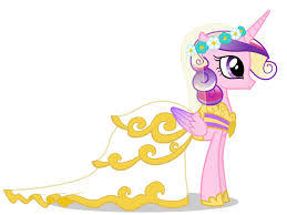 I just 愛 Princess Cadence wedding dress! It is soooo pretty!