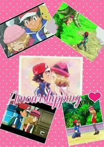 Ash and Serena ❤