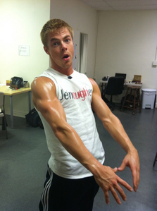 Derek Hough and his toned,dancing arms