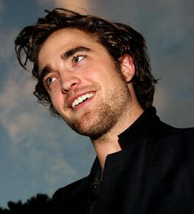 Robert's perfect white teeth<3