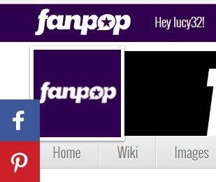click the fanpop logo in the upper left corner