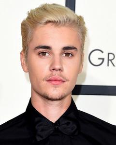 Bieber with stylish hair