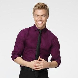 Derek Hough looking like a yummy purple druif