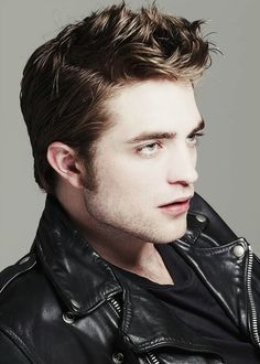 my hot babe in a cool leather jacket<3