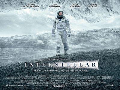 Interstellar is a beautiful film. Easy choice.