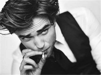 he's smokin' hot whether it's in b&w o in living color<3