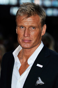 Swedish actor, Dolph Lundren :)