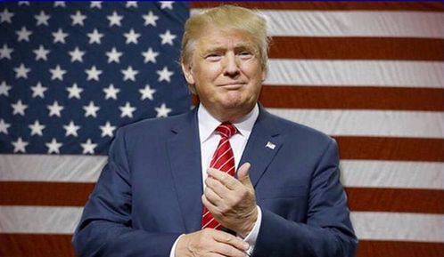 Donald fucking Trump...our soon to be POTUS...who undoubtedly will fuck it up.He is obnoxious,loud,rude,pompous and a whole lot more.I hate his fucking guts!!!!!He is everything a POTUS should NOT be,considering he represents all the American people.Is that the kind of person we want running our country for the seguinte 4 years? I sure as hell don't!!!!!
