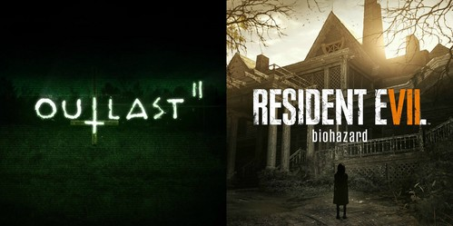 Outlast 2 and Resident Evil 7