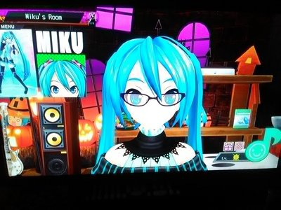 All anda gotta do is google all your information. Krypton Future Media created Hatsune Miku. Hatsune Miku is a Vocaloid that and Music. Miku is known as first sound of the future. And she is a software program created for fan to make musik of her. And short anime like video called MMD Miku Miku Dance. Also Hatsune Miku has komik jepang Bok series and Video Game series. If anda wanna know lebih go to this google link to learn about Hatsune Miku.https://www.google.com/search?q=What+is+Hasune+Miku%3F&oq=What+is+Hasune+Miku%3F&aqs=chrome..69i57j0l3.5712j0j4&client=ms-android-metropcs-us&sourceid=chrome-mobile&ie=UTF-8 also the picture is Hatsune Miku in her Avant-Garde dress/Module outfit from my Hatsune Miku Project Diva F 2nd Video Game. :3