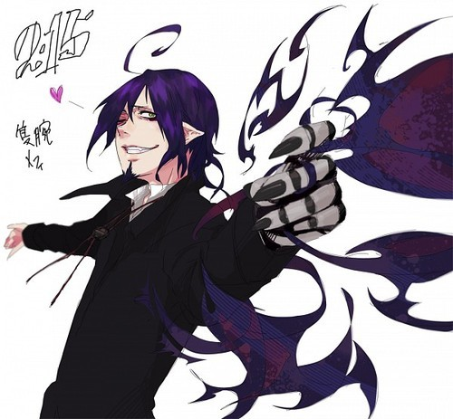 Mephisto~ ❤ And it'd be awesome if he would only 爱情 me~ ❤