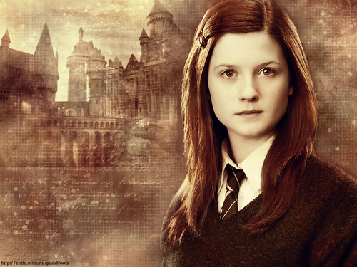 Ginny Weasley. She is brave, funny, and completely underappreciated. I find Ginny very relatable, so she has always been my favourite character.