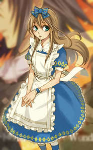 Well I'm kinda bad at choosing for clothes/dresses but I like this one Alice Liddell's from Alice in the Country of Hearts