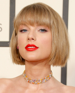 here's my pic of Taylor with short hair