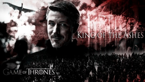 I want Petyr to be the winner of the game, because he's been the best player imo. and it would be a bit of a surprise and not the obvious ending which is for me Dany on the Iron Throne.