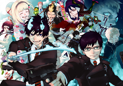 Ao No Exorcist. I'm in 爱情 with this series, man. And Mephisto. Can't forget Mephisto...
