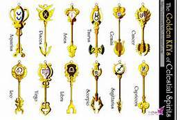 #2. is Aries, #4, is pisces That's all i know...sorry. I own the same exact keys, with the ring and everything. i know all of the zodiac keys and some of the silver keys, but some of the EXTRA keys are hard!