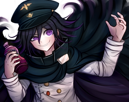 I know he is not from an 아니메 but I choose Kokichi Ouma from Danganronpa V3