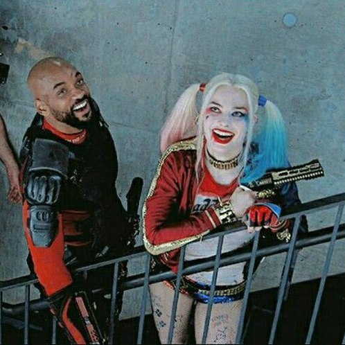 cinta Deadshot and Harley