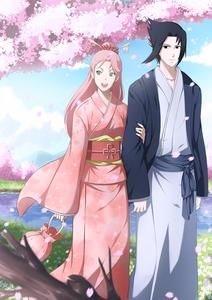 Sasuke-kun! & Sakura-chan!