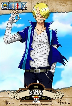 My first ever anime crush was Duo Maxwell from Gundamn Wing. I was about 11 years old back then. -blush- Current: Sanji from One Piece. I had a crush on him back when I first watched it almost 10 years ago. Been watching it again lately and my old long thought buried crush on him hit me in the face full force. I also have a small crush on Shanks.
