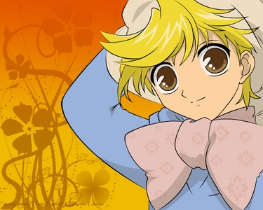 Momiji Sohma from Fruits Basket. He's about 15 but he looks like a little kid.