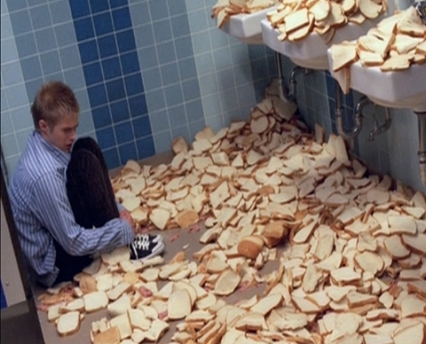 i ate all of the breads