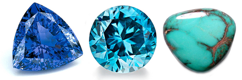 Mine has 3 birthstones Zircon, Tanzanite and Turqoise