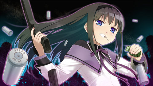 Homura Akemi- Puella Magi Madoka Magica