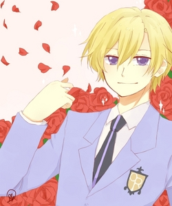 A mix of rose and strawberries. Tbh that's what I'd expect Tamaki to smell like. Mephisto would smell like expensive old man cologne and candy. Maybe cake, too.