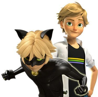 I think I relate the most to Adrien Agrest / Cat noir from Miraculous, mostly about the personality,.