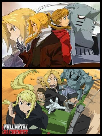 Edward and Alphonse Elric from Fullmetal Alchemist/FMA Brotherhood. Seeing how much Edward would risk his life giving up his arm and leg to save his brother attached his soul I a suit of armor is true love. Seeing how the Elric brothers grew to warm your сердце through the FMA series was so adorable. Yet so funny they could be throughout the series. Edward and Alphonse Elric are one of my tip Избранное brothers in all of Anime. Even Edward's voice actor did a song for Edward and Alphonse Elric called Brothers. Watch the AMV video here. ----->https://m.youtube.com/watch?v=vrL6BMN61Do