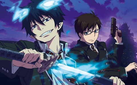 blue exorcist- yukio and rin okumura (twins btw) not only a pair of awesome bros but also one of the best duo!
