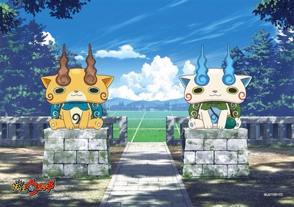 Komajiro and Komasan - Yo-kai Watch