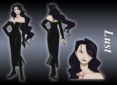 """If Lust from Fullmetal Alchemist asked me to marry her, I would ( of course) say, """"HELL YEAH !!!!!!"""""""