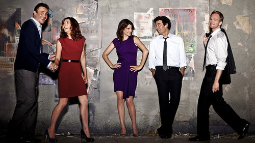 I am currently obsessed with How I met your mother. It's on Netflix right now and I'm on season 3 and I am already in 爱情 with the show.