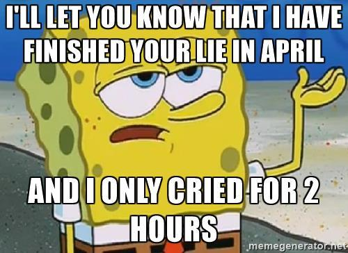 I'm so tough I watched Your Lie In April and only cried for 2 hours