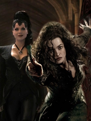 Bellamione isn't my main one. Bella and Snape too. Also like Harry with Cho,Luna, and Hermione. Luna with Neville. I hardcore crossover ship Bellatrix with Isabella from Robin kap, hood And with Regina from Once.